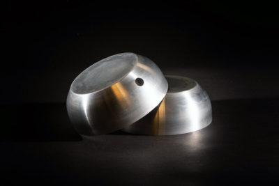 Spun Aluminium Laboratory Bowls
