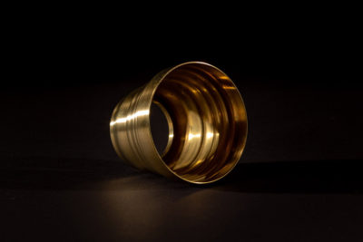 Spun Brass Decorative Shroud